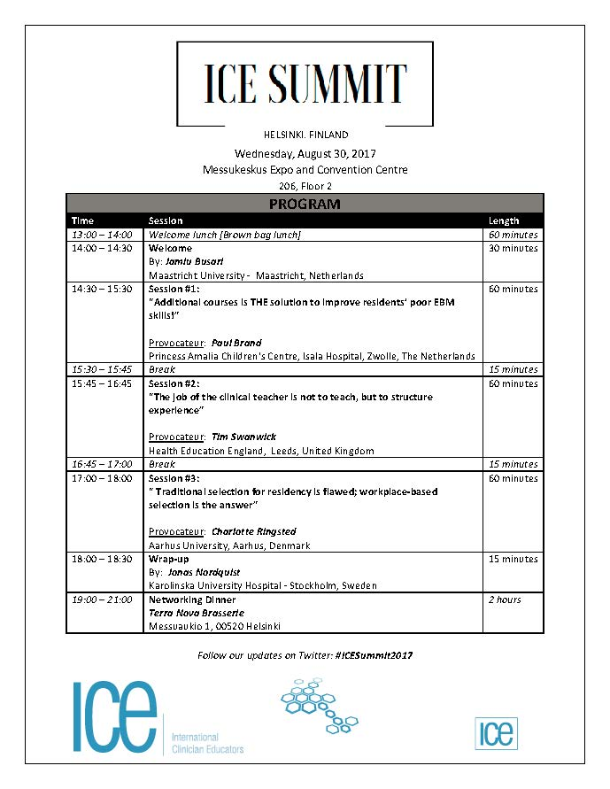 ICE Summit Helsinki_Program