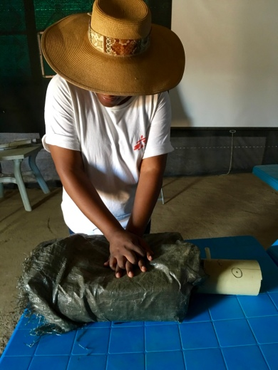 Brazil_Low physical realism but highly effective CPR training in South Sudan. Photo courtesy Dr Amy Neilsen